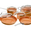 Up To 62 Off On Gotham Copper Cookware 10pc Groupon Goods