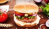 Burgerim - West Hollywood: Specialty Burgers, Fries, and Salads at Burgerim USA (Half Off). Two Options Available.