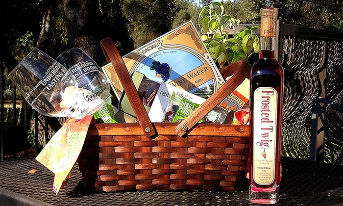 The Underground Tasting Room - Old Town Sacramento: Wine-Tasting Picnic Package for Two with Take-Home Glasses at The Underground Wine Tasting Room (Up to 67% Off)