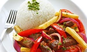 La Molienda Cafe: Lunch or Dinner for Two or Four at La Molienda Peruvian Restaurant & Bar (40% Off)
