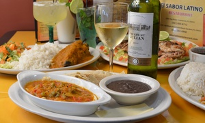 El Sabor Latino: Latin  Breakfast or Brunch for Two or Four at El Sabor Latino (Up to 50% Off)