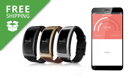 Free Shipping: $49.95 for a TODO Fitness Tracker Smart Bracelet with Heart Rate Monitor