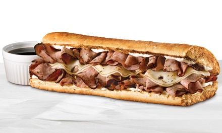 Two, Four, or Six Small Sub Sandwiches at Quiznos (Half Off)