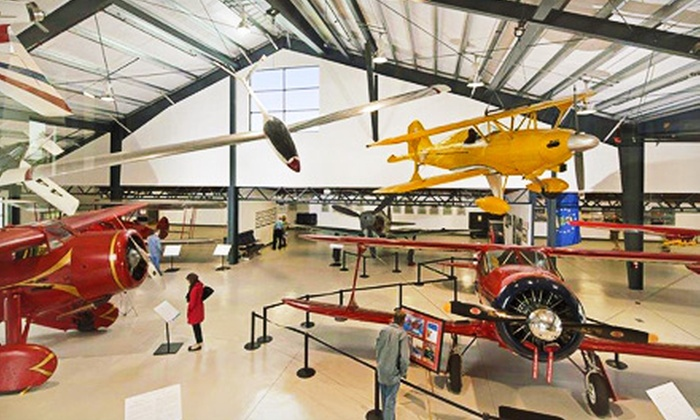 Museum of Flying - Sunset Park: Museum Visit for Two Adults or Seniors, or Two Adults and Two Children at Museum of Flying (Up to Half Off)
