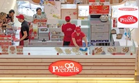 Choice of Freshly Baked Pretzel and Drink for One, Two or Four at Mr Pretzels, 30 Locations (Up to 52% Off)