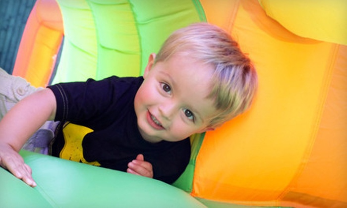 The Jungle Party House - Clovis: Indoor-Playground Visit for One Child or $8 for $17 Worth of Visits to The Jungle Party House in Clovis