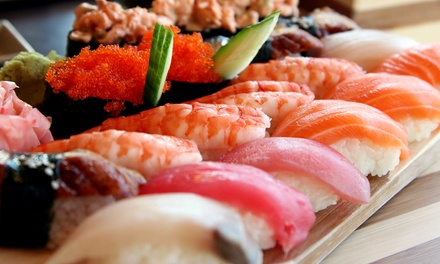 Japanese Cuisine at Ninja Sushi (44% Off). Two Options Available.