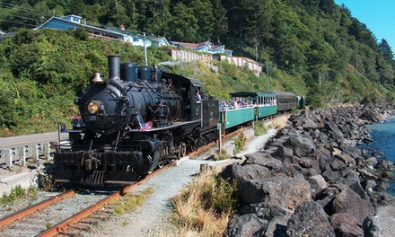 Coastal Steam-Train Excursion from Oregon Coast Scenic Railroad (Up to 50%Off). 21 Options Available.