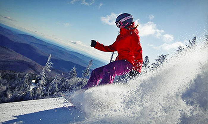 Pico Mountain - Pico Mountain: One-, Two-, or Three-Day Ski-Lift Ticket at Pico Mountain (Up to 52% Off). Four Options Available.