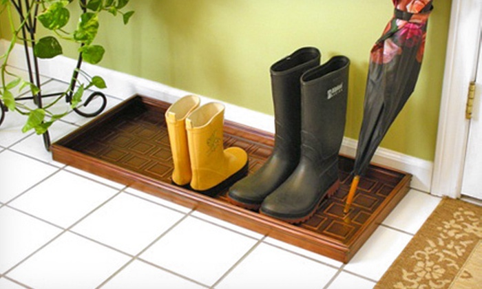 Good Directions Boot Trays: $29 for a Good Directions Boot Tray ($59.99 List Price). Four Designs Available. Free Shipping and Free Returns.