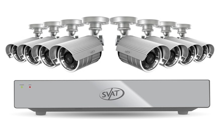 SVAT 8-Channel Smart Security DVR System (11023). Free Returns.