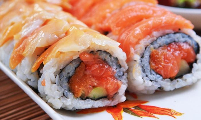 Kikoo Sushi - New York: Two Hours of All-You-Can-Eat Sushi, Sashimi & Teriyaki Dinner with Drinks at Kikoo Sushi (Up to 53% Off)