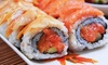 Kikoo Sushi - New York: Two Hours of All-You-Can-Eat Sushi, Sashimi & Teriyaki Dinner with Drinks at Kikoo Sushi (Up to 53% Off)