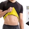 Men's Thermal Body Shaper Slimming Shirt with Toning Gel Set (2-Piece)