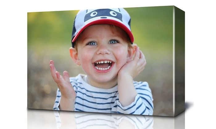 """Fabness: 16""""x20"""" Photo Canvas with Free 14–21 or 7–14 Day Shipping from Fabness (Up to 85% Off). Free Shipping."""
