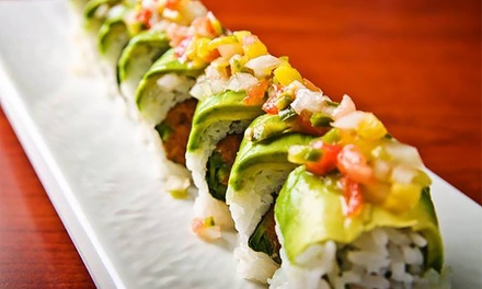 $14 for $24 Worth of Sushi and Cocktails During Comedy Night at Moonchine Asian Bistro. Five Wednesdays Available.