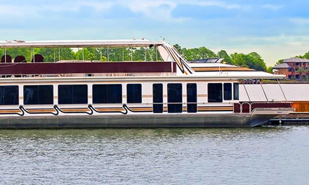 Three-Hour Dinner Cruise for 2, 4, or 10, or NYE Dinner Cruise for 2 at Waterpoint Marina (Up to 51% Off)
