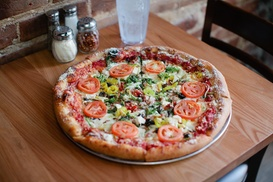 Mellow Mushroom Rock Hill: Pizza or Catering at Mellow Mushroom - Rock Hill (Up to 33% Off)