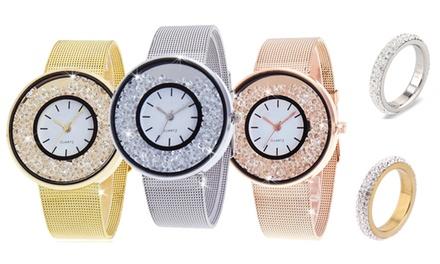 Gioielli con cristalli Swarovski® di Be Jewels disponibili in vari modelli e misure