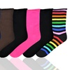 4-Pack of Women's Relaxed Roll-Top Socks