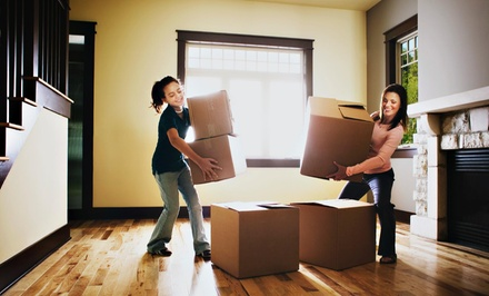 Three Hours of Moving Services with Two Movers and One Truck from Elite Moving (61% Off)