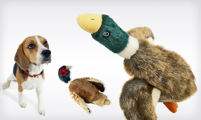Spot Woodland Dog Toys: Spot Woodland Dog Toys (Up to 46% Off). Two Styles Available. Free Returns.