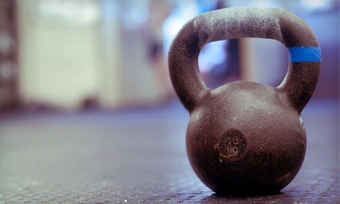 Studio F3 - Dupont Circle: Four Group Kettlebell Classes or One Month of Unlimited Kettlebell Classes at Studio F3 (Up to 71% Off)