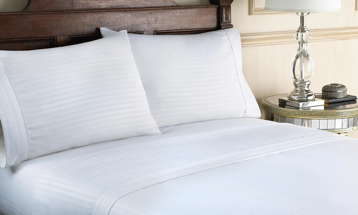 Hotel New York Embossed Sheet Set Multiple Styles Available