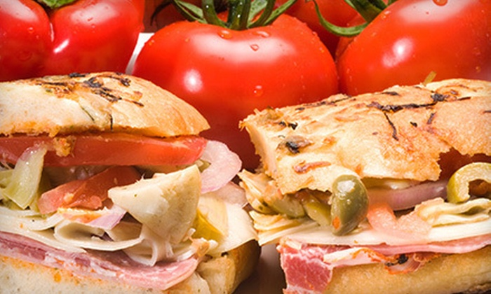 DeRosa Imports - Griffith: 5 or 10 Deli Sandwiches at DeRosa Imports (Half Off)