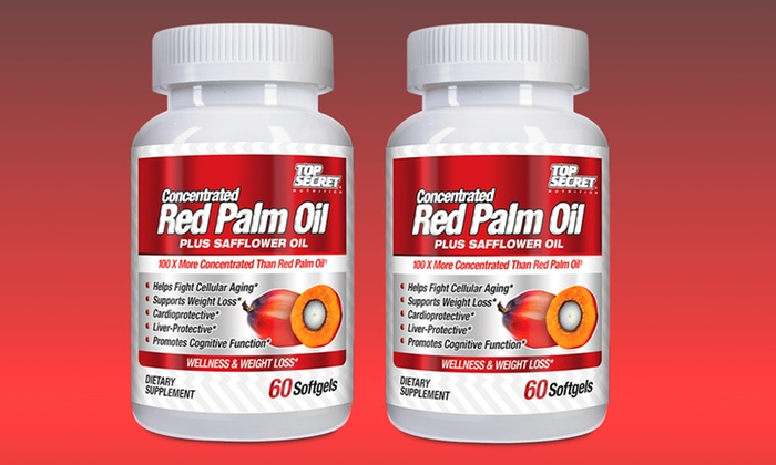 Red palm oil for weight loss