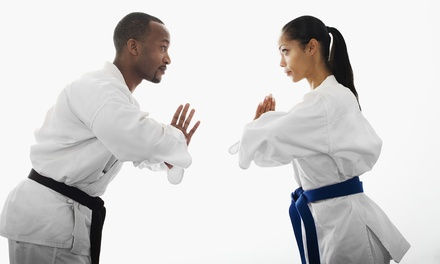 One or Three Months of Classes for Kids or Adults with Uniform at Karate International (Up to 81% Off)
