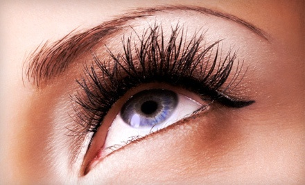 Permanent Make-up Application on the Top or Lower Eyelids (a $375 value) - B-Lashes Beauty Parlor in Columbus