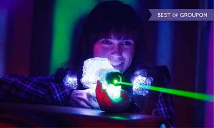 $32 for Laser Tag for Up to Four with Arcade Credits at Lazer X ($90 Value)