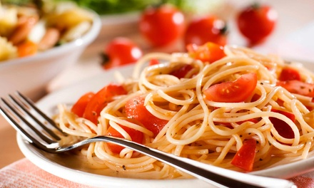 Italian Meal and House Wine for Two or Four at Gumba's Italian Restaurant & Pizzeria (Up to 55% Off)