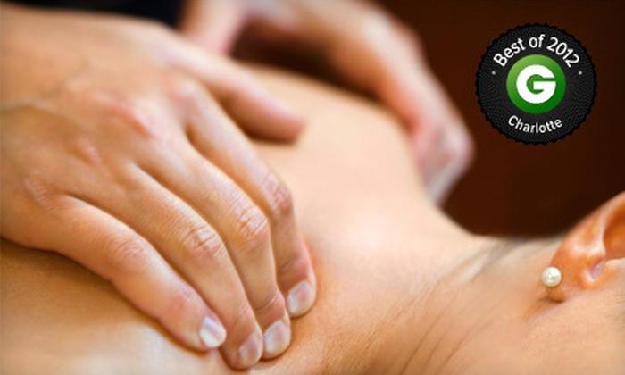 Bambu Organic Massage - University City North: 50-Minute Swedish Massage for a Single Client or a Couple at Bambù Organic Massage (Half Off)