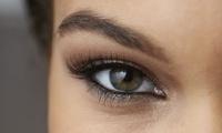 """Wimpernverlängerung mit 80 oder 120 Seidenwimpern pro Auge im Kosmetikstudio """"Regenbogenblume"""" (bis zu 60% sparen*)"""