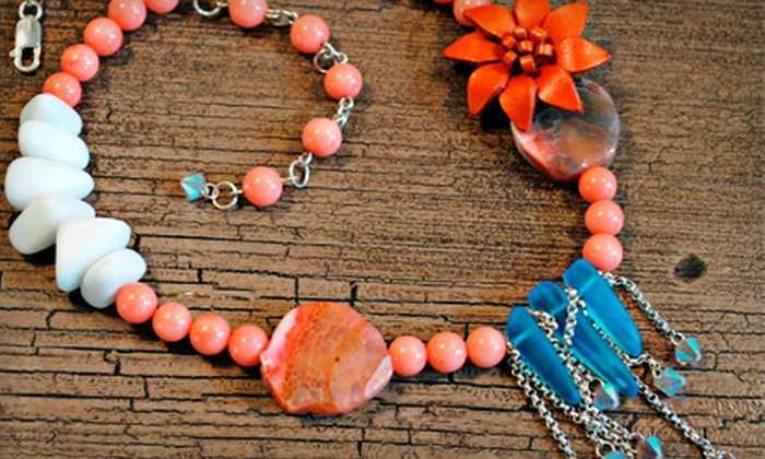 Art & Soul Beads - Clifton Heights: BYOB Jewelry-Making Class for Two, Four, or Six at Art & Soul Beads (Up to 57% Off)