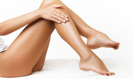 Six Laser Hair-Removal Treatments on Small, Medium, Large, or Extra-Large Area at B Medical Spa (Up to 80% Off)