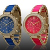 Geneva Two Tone Collection Women's Watches