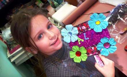 Sleepover Party with Pizza and Art Projects for Eight Kids or $15 for $30 Worth of Drop-In Art Projects at Studio Art