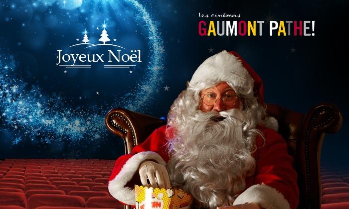 cinémas Gaumont Pathé: Fêter Noël avec les Cinémas Gaumont et Pathé ! Places valables du 5 au 20 janvier 2015 pour 5,90 €