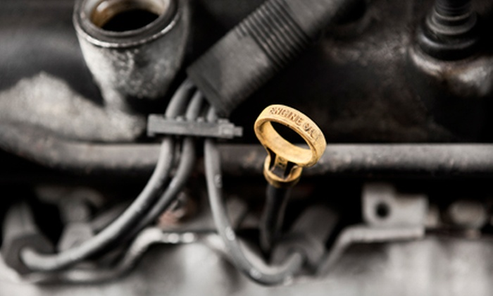 Wiygul Automotive Clinic - Multiple Locations: Nonsynthetic or Synthetic Oil-Change Package with Inspection or AC Service at Wiygul Automotive Clinic (Up to 81% Off)