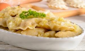 Ranczo – bar z polską kuchnią: Pierogowa uczta dla 2 osób za 31,99 zł i więcej w barze Ranczo (do -33%)