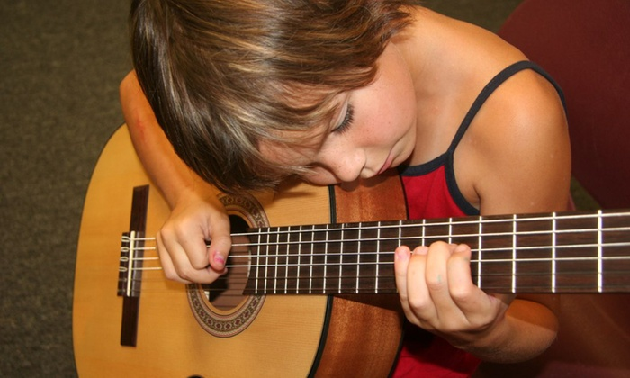 Childbloom Guitar Program Northeast Georgia - Buford: Kids' Group Guitar Lessons with Optional Guitar at Childbloom Guitar Program North East Georgia (Up to 69% Off)