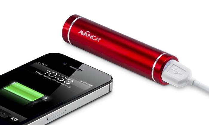 batterie portable externe smartphone groupon shopping. Black Bedroom Furniture Sets. Home Design Ideas
