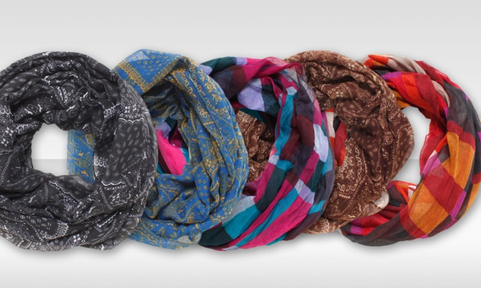 David and Young Figure 8 Infinity Scarves: $8.99 for a David and Young Figure 8 Infinity Scarf ($26 List Price). Multiple Styles Available. Free Returns.