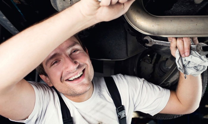 Allpro Auto Service - Old Irving Park: $180 for a Front or Rear Brake Package at Allpro Auto Service ($360 Value)
