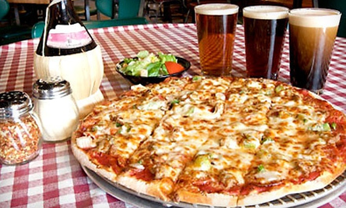 Campus Pizza & Pasta - East Bank: $10 Toward Pizza and Drinks