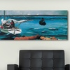 "$42.99 for a 36""x12""x0.75"" Panoramic Canvas Print"