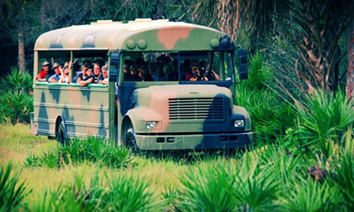Babcock Wilderness Adventures - Punta Gorda: Wilderness Eco-Tours for One, Two, or Four at Babcock Wilderness Adventures (Up to 50% Off)